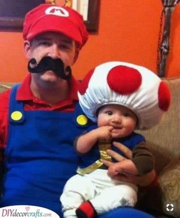 Mario and Toad - For Any Nintendo Fans