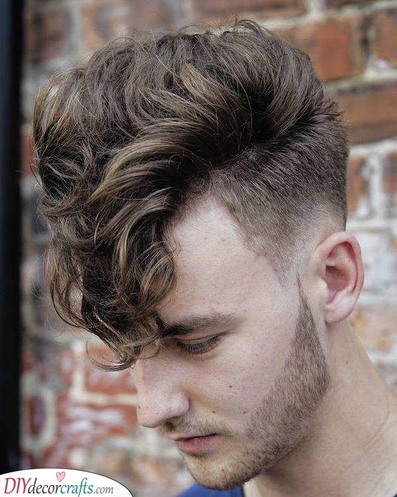 Grease Vibes - Curly Hairstyles for Men