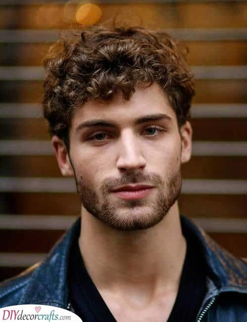 Short and Stunning - Hairstyles for Curly Hair Men