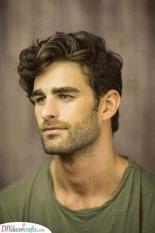 What to Do About Curls - Best Hairstyles for Men