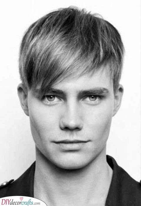 Getting Some Bangs - Trendy Mens Haircuts