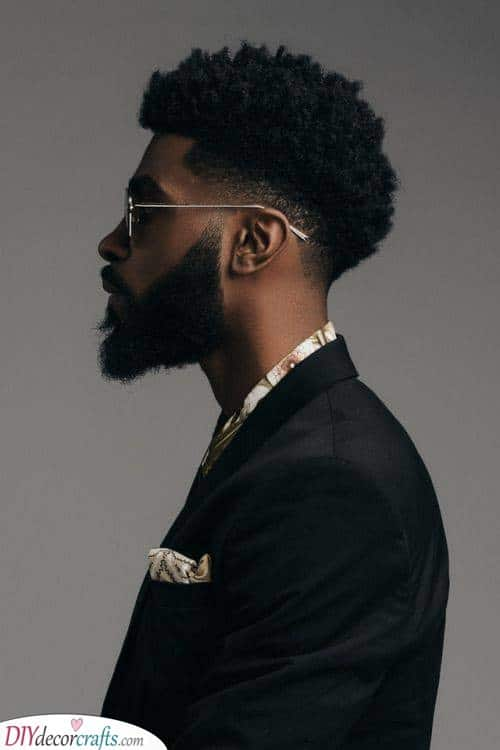 Styling an Afro - Hairstyle Ideas for Men