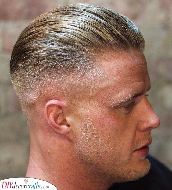 A Midlength Undercut - Trendy Mens Haircuts