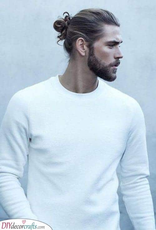 The Man Bun - Stylish and Sophisticated