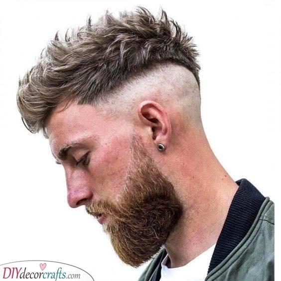 A Faux Hawk - Trendy Mens Haircuts