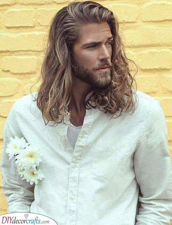 Long and Luscious - Hairstyles for Men