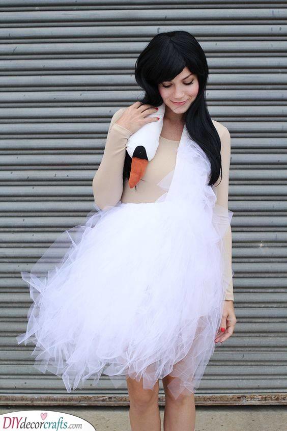 A Swan Dress - Gorgeous and Elegant