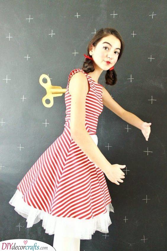 A Wind Up Doll – Unique Carnival Costumes for Women