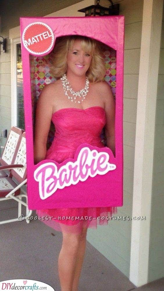 Barbie in a Box - Cute and Beautiful