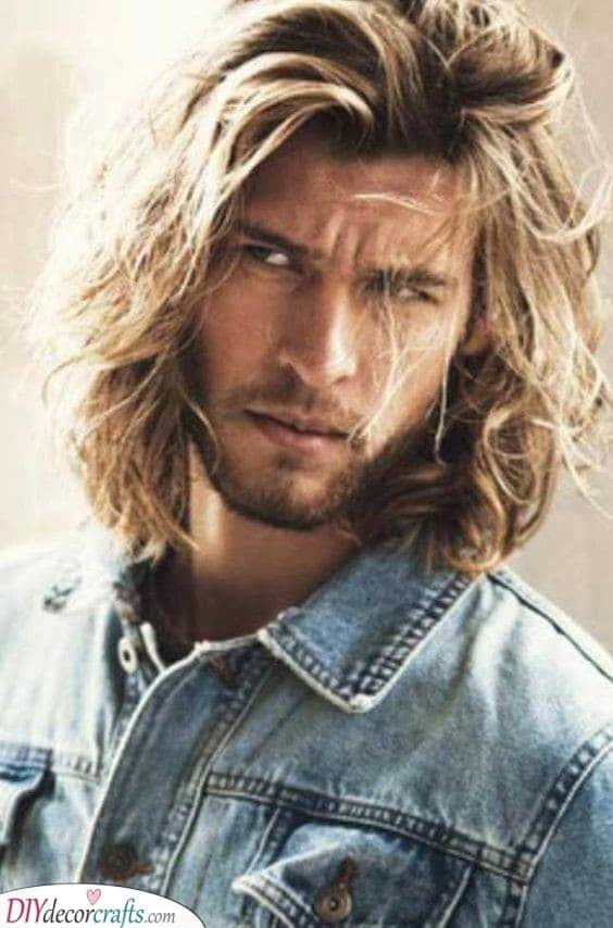 Creating a Mane - Gorgeous and Manly