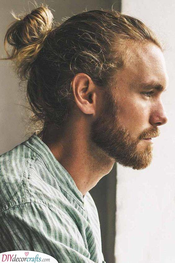 The Man Bun - Hairstyles for Men with Long Hair