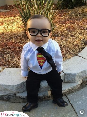A Baby Superman - Baby Costumes for Carnival