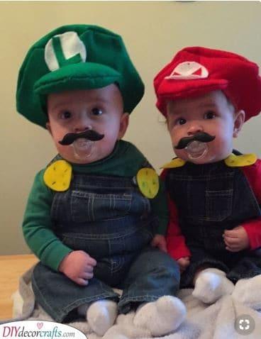 Mario and Luigi - Two Peas in a Pod