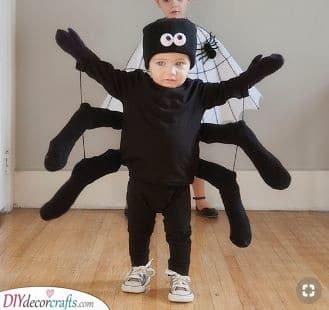 DIY Spider Costume - Animal Costume Ideas