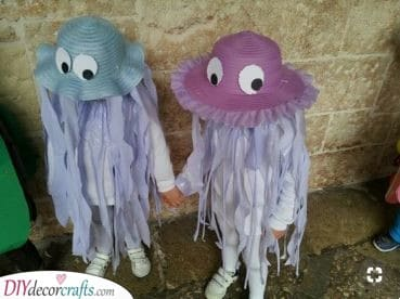 Adorable Jellyfish - Carnival Costumes for Babies