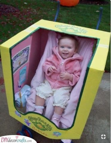 Cabbage Patch Kid - In a Stroller