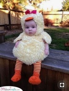 A Baby Chicken - Cute Carnival Baby Costumes