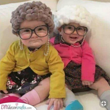 A Grandma or Grandpa - Funny and Cute