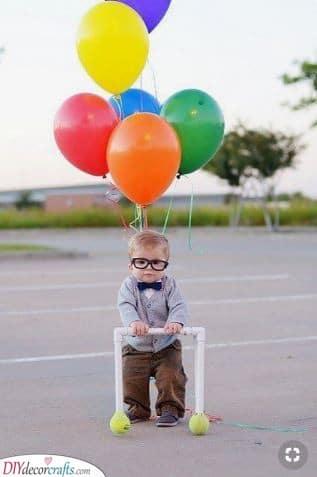 Up and Away - Mr Fredricksen Costume