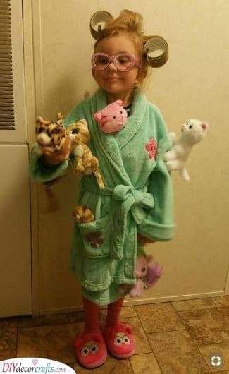 A Crazy Cat Lady - Carnival Costumes for Kids