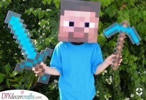 Time for Minecraft - Kids Carnival Costumes