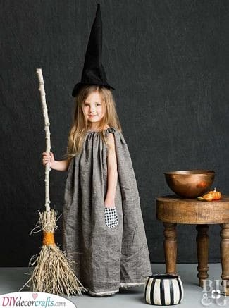 A Little Witch - Kids Carnival Costumes