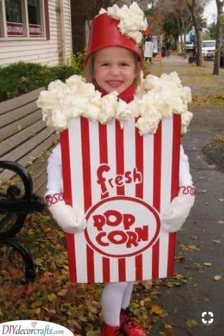 A Tub of Popcorn - A Tasty Snack