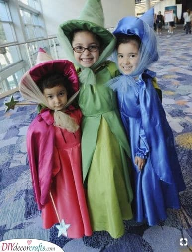 Fairy Godmother - Carnival Costumes for Kids