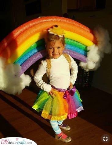 A Delightful Rainbow – Carnival Costumes for Children
