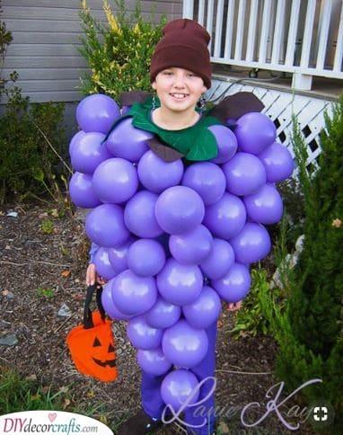 Heard it on the Grapevine - Using Purple Balloons