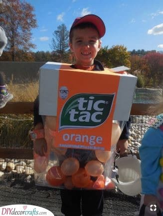 A Box of Tic Tacs – Carnival Costumes for Kids