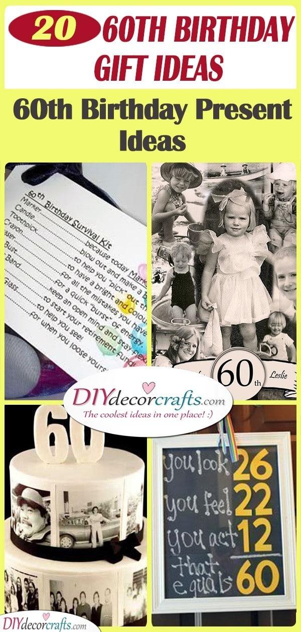 20 60TH BIRTHDAY GIFT IDEAS - 60th Birthday Present Ideas