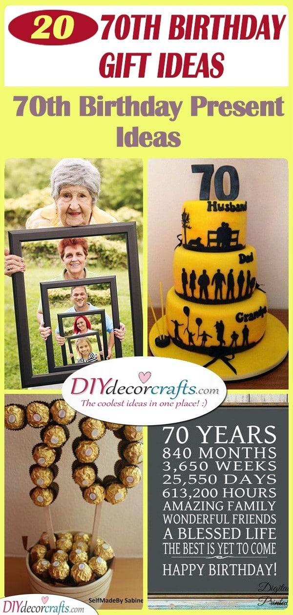 20 70TH BIRTHDAY GIFT IDEAS - 70th Birthday Present Ideas
