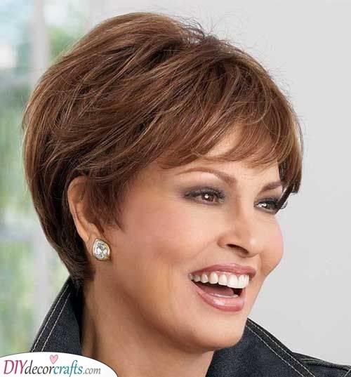 Shorter Hairstyles for Women over 50 - Shorter Hairstyles for Older Women