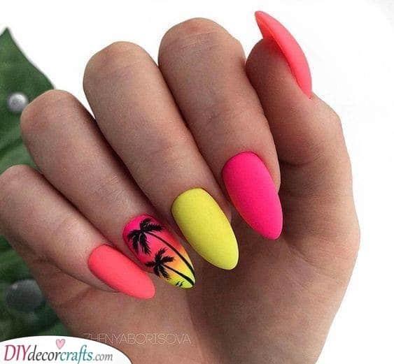 Summer Nail Designs - Acrylic Nail Designs for Summer
