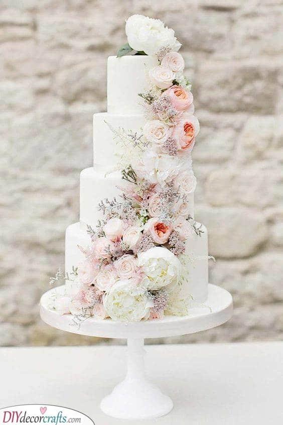 Delicious Wedding Cake Ideas - Wedding Cake Decorations