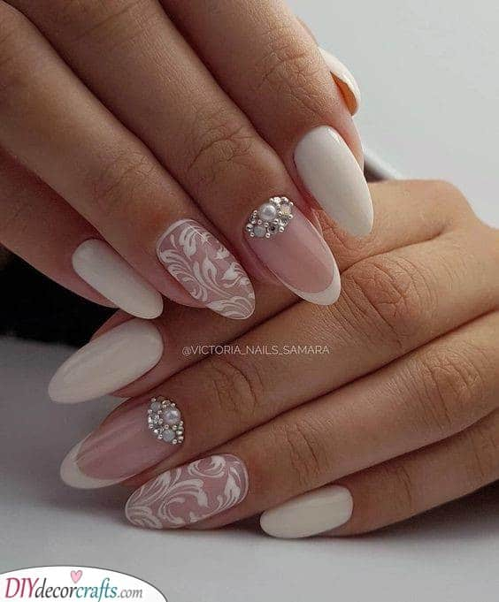 Wedding Nails for Bride - Wedding Nail Ideas and Designs