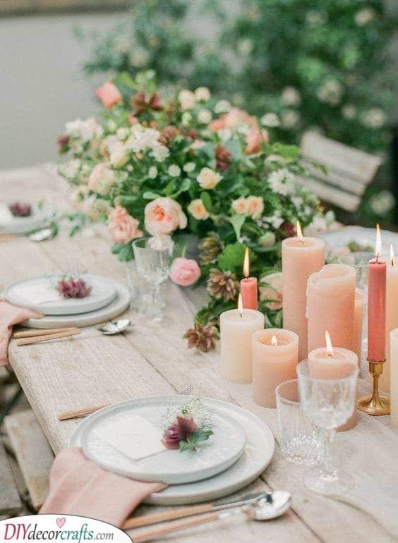 DIY Wedding Centrepieces - DIY Table Centrepiece Ideas