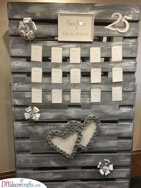 Silver Wedding Decorations - Silver Wedding Decor Ideas
