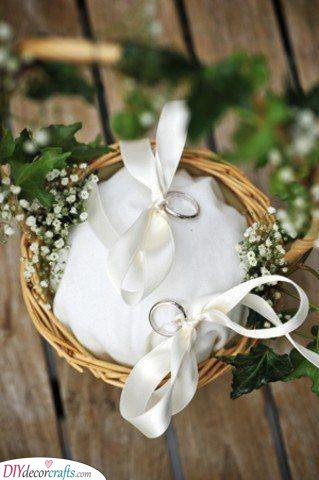 Wedding Ring Pillows - Ring Cushions for Your Wedding