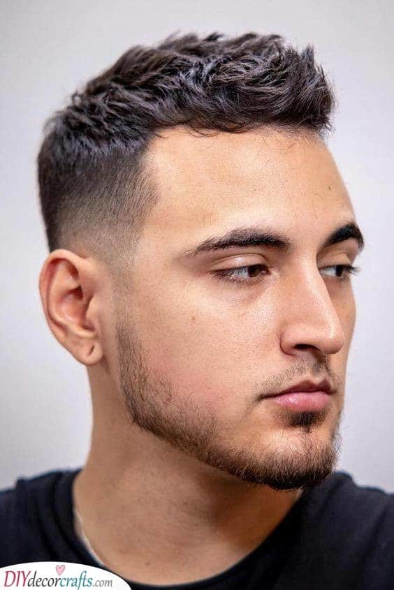 Hairstyles For Men With Thin Hair Mens Haircuts For Fine Hair