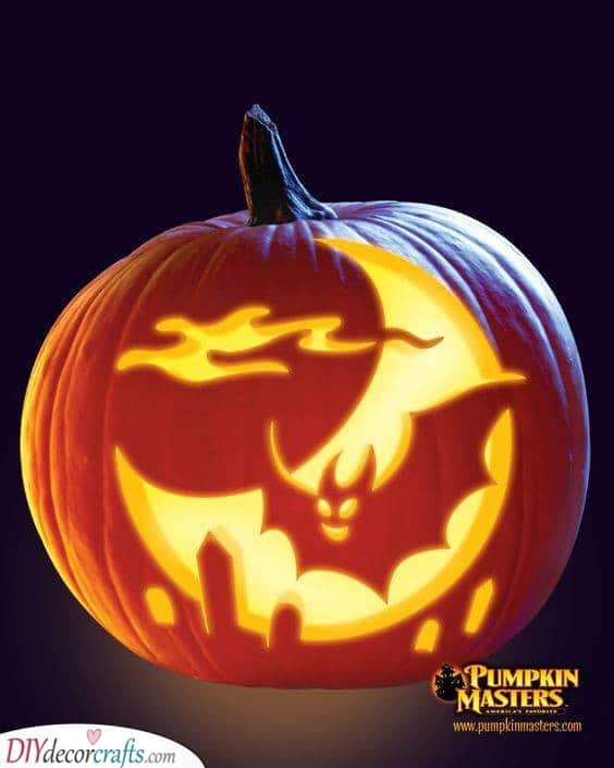 Easy Pumpkin Carving Ideas - Pumpkin Decorating Ideas