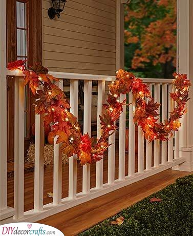 Fall Decorations for Outside - Fall Decorating Ideas for Outside