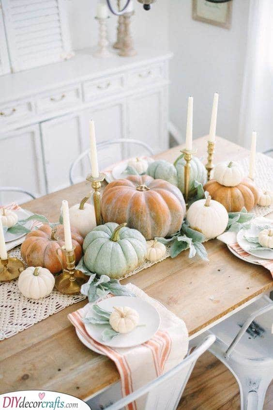 Fall Table Centrepieces - Great Fall Table Decor Ideas