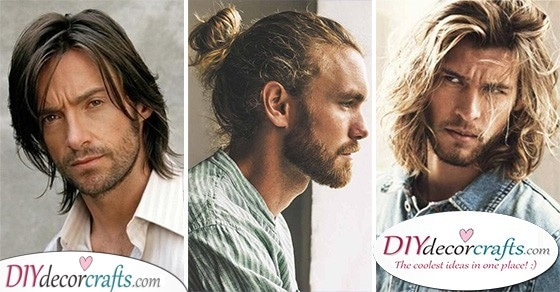 25 BEST LONG HAIRSTYLES FOR MEN - Hairstyles for Men with Long Hair