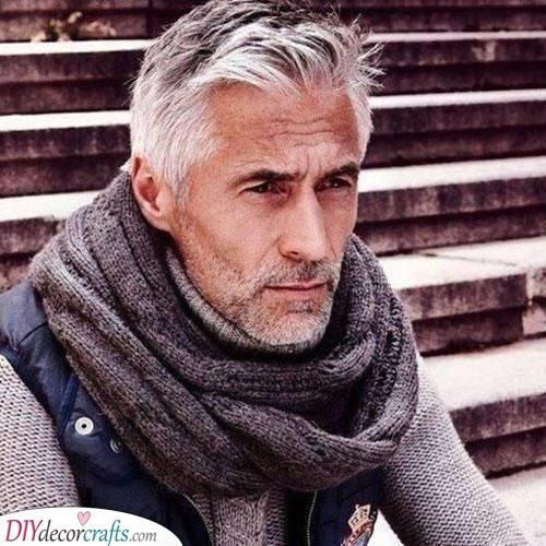Rugged and Windswept - Best Haircuts for Older Men