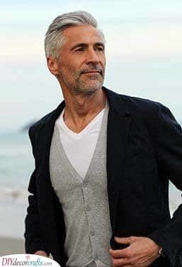 Easy and Simple - Short Haircuts for Older Men