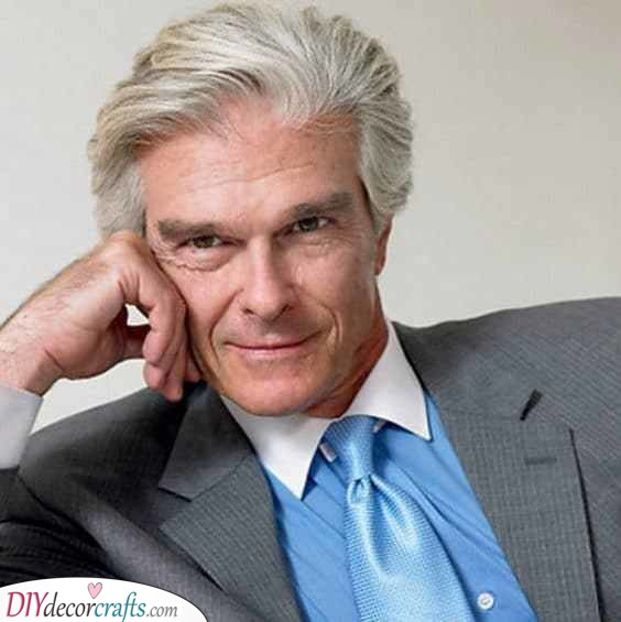 A Handsome Haircut - Best Haircuts for Older Men