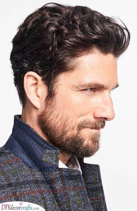 A Simple Cut - Elegant Short Hairstyles for Men