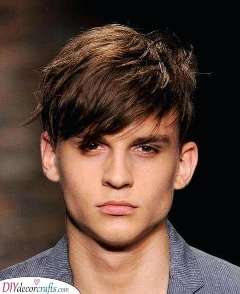 Short and Shaggy - Chic Short Male Haircuts